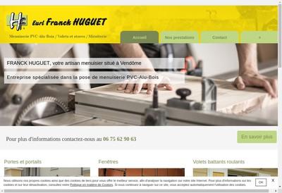 Site internet de Franck Huguet