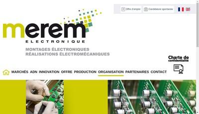 Site internet de Merem