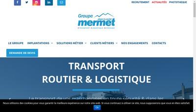 Site internet de Jean Claude Mermet
