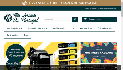 Capture d'écran du site de Acreed Sas