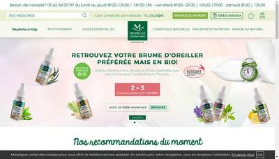 Site internet de Laboratoires Maurice Messegue