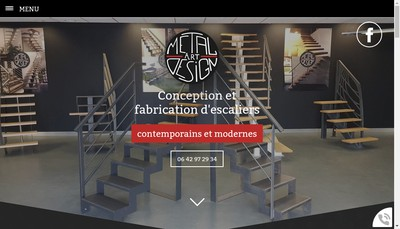 Site internet de Metal Art Design