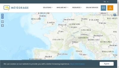 Site internet de Meteorage