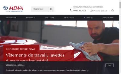Site internet de Sarl Mewa