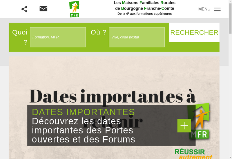 Capture d'écran du site de FC Net-Franche-Comte Net-Metaconcept