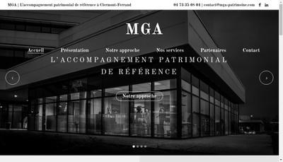Site internet de Mga