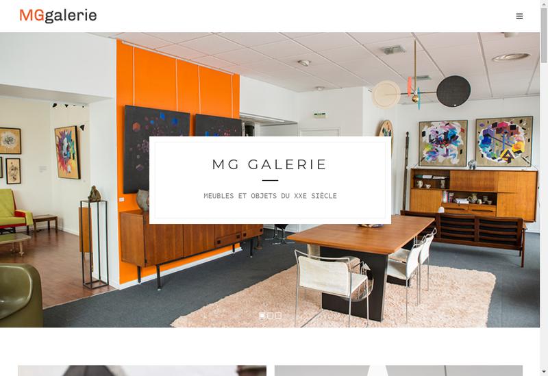 Capture d'écran du site de Mg Expertise