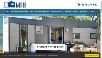 Site internet de Mobil-Home Investissement