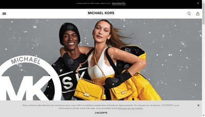 Site internet de Michael Kors (France)