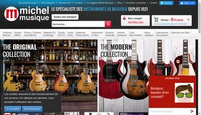 Site internet de Musique 38 Import