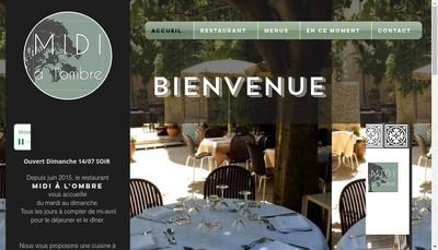 Site internet de Midi a l'Ombre
