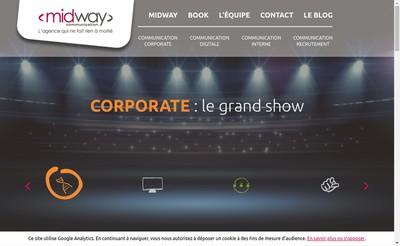Site internet de Midway Communication