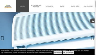 Site internet de Milliot Jacquemart