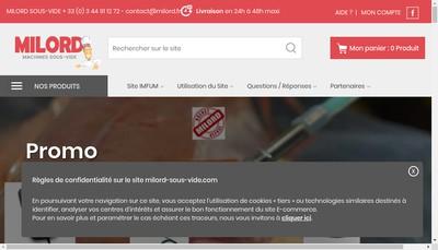 Site internet de Milord