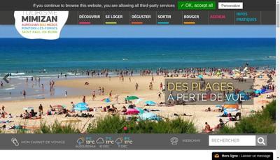 Site internet de Office Intercommunal de Tourisme