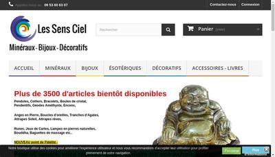 Site internet de Les Sens Ciel