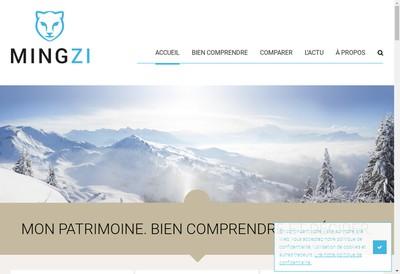 Site internet de Mingzi