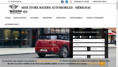 Site internet de Bayern By Autosphere