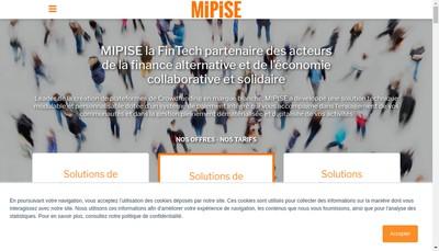 Site internet de Mipise
