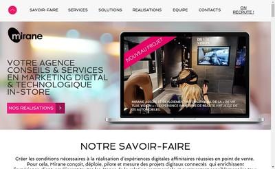 Site internet de Mirane