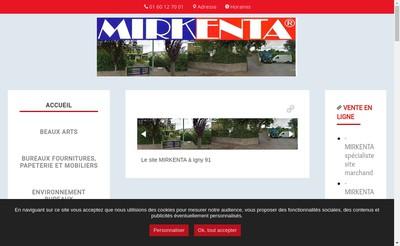 Site internet de Mirkenta