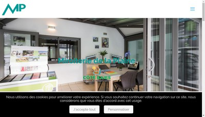Site internet de Miroiterie de la Plaine