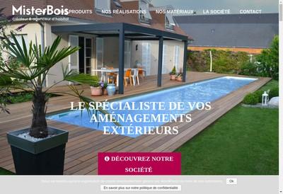 Site internet de Mister Bois