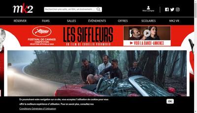 Site internet de Mk2 Films