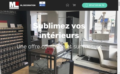 Site internet de Ml Decoration