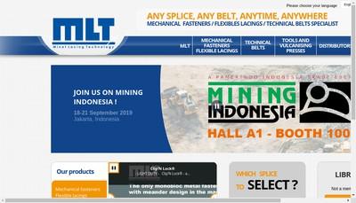 Site internet de Mlt Minet Lacing Technology
