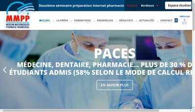Site internet de MMPP