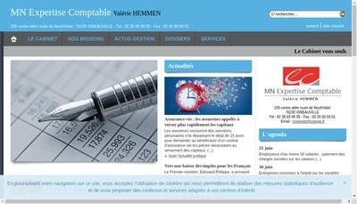 Site internet de Mn Expertise Comptable