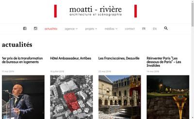 Site internet de Moatti Riviere