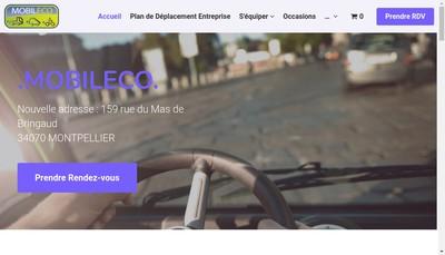 Site internet de Mobileco