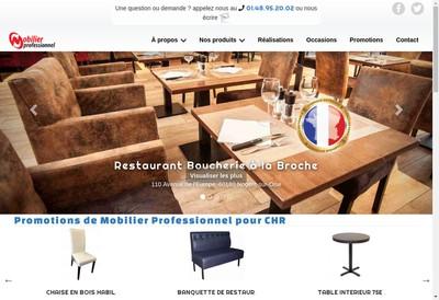 Site internet de Mobilier Professionnel