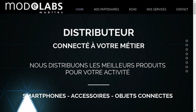 Site internet de Modelabs Mobiles