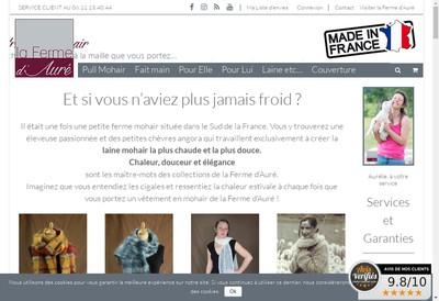 Site internet de La Ferme d'Aure