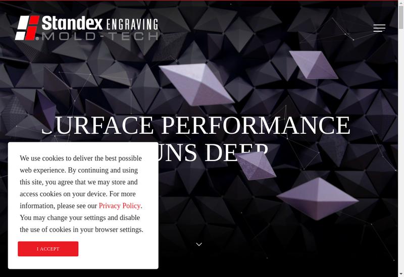 Capture d'écran du site de Mold Tech SARL
