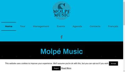 Site internet de Molpe Music