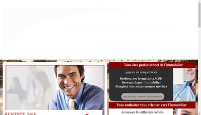 Site internet de Moncouet Formation et Services