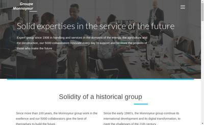 Site internet de Bergerat Monnoyeur Services