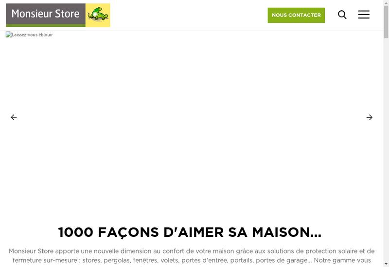 Capture d'écran du site de Sacherie d'Auvergne