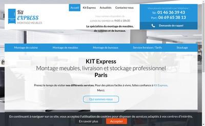 Site internet de Kit Express SARL