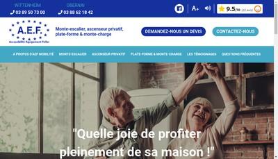 Site internet de AEF