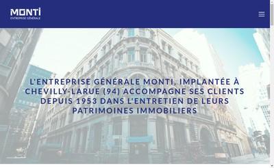 Site internet de Entreprise Generale Monti
