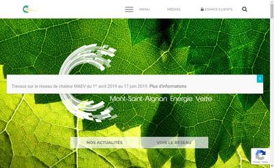 Site internet de Mont-Saint-Aignan Energie Verte