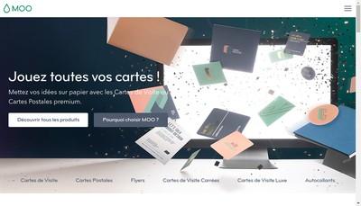 Site internet de Moo Design