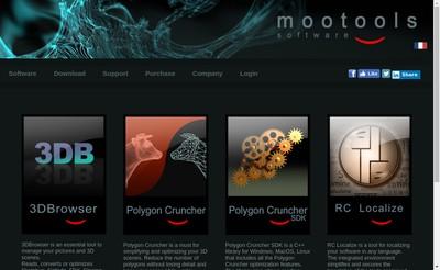 Site internet de Mootools