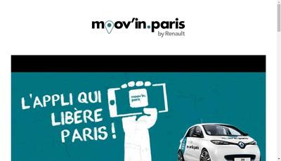 Site internet de Moovin