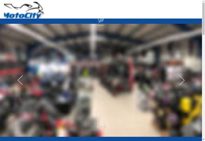 Capture d'écran du site de Motocity
